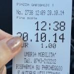 Spoleto, «1 euro per 30′ di parcheggio: vergognoso!»