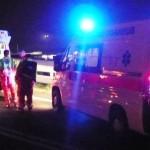 Spoleto, incidente nella notte a Bazzano: 38enne ferito