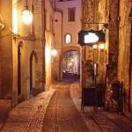 Spoleto, la foto del giorno è via Fontesecca di Andrea Borgotti