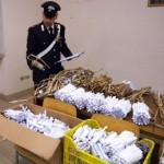Umbria, carabinieri sequestrano oltre 2 quintali di botti illegali