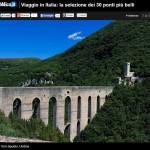 Spoleto, Ponte delle Torri per Repubblica.it tra i 30 più belli d'Italia