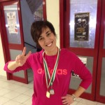 Spoleto, nuoto: doppio podio per Valentina Bocali nella stagione agonistica 2015