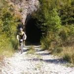 Spoleto, l'ex ferrovia Spoleto-Norcia su Repubblica