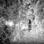 """Spoleto, la foto del giorno è """"Passeggiata infrarosso"""" di Andrea Cittadini"""