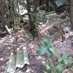 Spoleto, amianto tra i boschi (Foto)