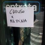 Rapina alla filiale Bps di Castel Ritaldi: bandito minaccia i dipendenti