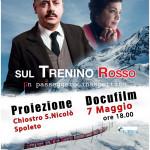 """Ex ferrovia Spoleto-Norcia, proiezione del docufilm """"Sul trenino rosso"""""""