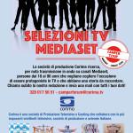 Norcia, selezioni tv Mediaset per persone tra 18 e 90 anni