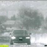 Flaminia, sfreccia a Trevi a 215 km/h: patente ritirata e multa