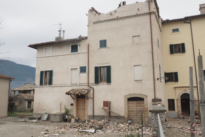 I danni del terremoto di Azzano del 2 gennaio 2017