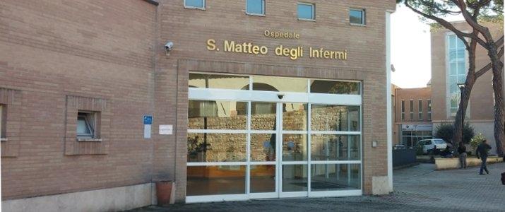 ospedale Spoleto Ingresso