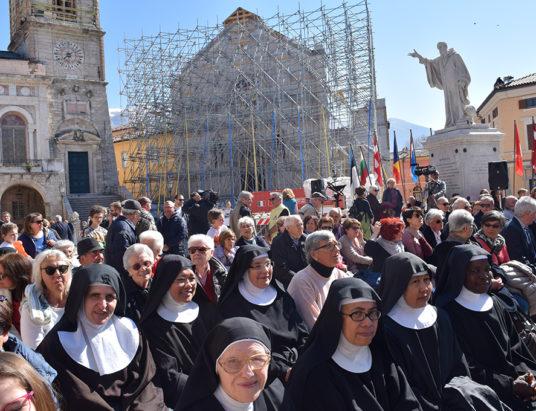 San Benedetto celebrazione Mons. Boccardo