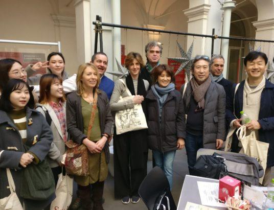 Studenti e professori del Seoul Institute of the Arts ricevuti in Assessorato alla Cultura